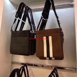 Authentic Coach men sling bag Messenger bag