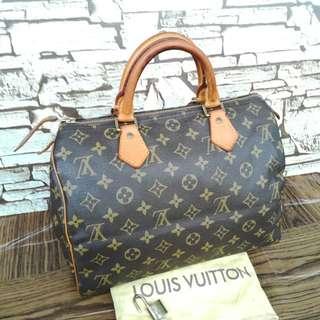 Authentic Louis Vuitton Speedy 30 handbag