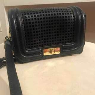 Tony Biano Mini Cross Shoulder Bag Navy