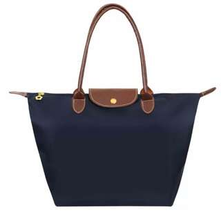 large classic bag blue colour