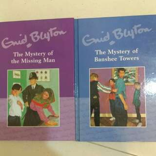 Enid Blyton 'The Mystery of' series