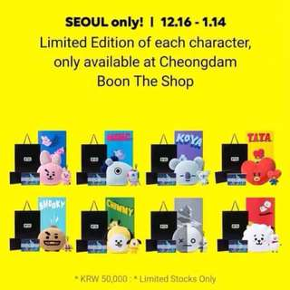 BT21 SHOOKY LOOSE ITEM