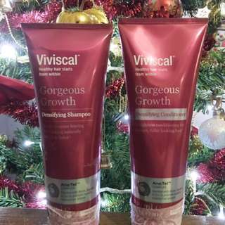 Brand New Viviscal Gorgeous growth densifying shampoo and conditioner
