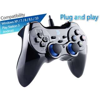 Brand New! ZD-V+ USB Wired Game Controller Gamepad with Vibration for Windows, Android & iOS - $28