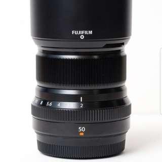 Fuji 50mm f2 *warranty