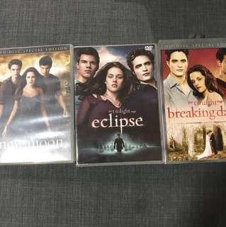 twilight saga - new moon | eclipse | breaking dawn part 1