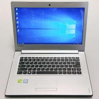 "Lenovo i5-7200u/8GB/500GB/Nvidia 940MX 4GB/14"" FHD 1080p Gaming Laptop"