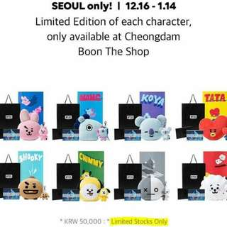 (FIRST BATCH) BTS BT21 OFFICIAL