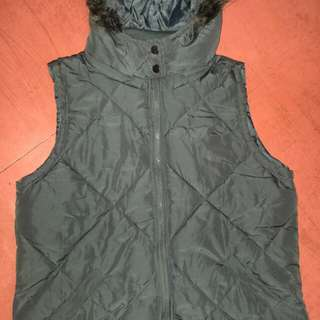 Original Cotton On Vest with Removable Hood