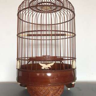 Puteh Old eagle cage with all rims choos