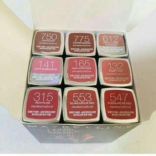 Maybelline color sensational set