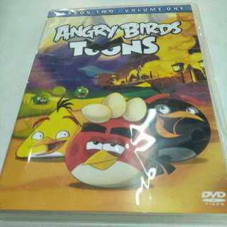 Angry Birds rooms season two-thirds volume one