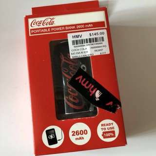Coca Cola Portable Charger **NEW