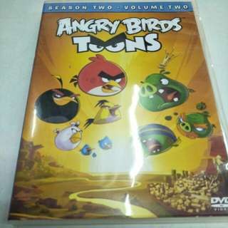Angry birds toons movie dvd