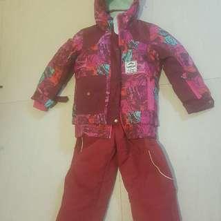 🚚 Snow suit for kids