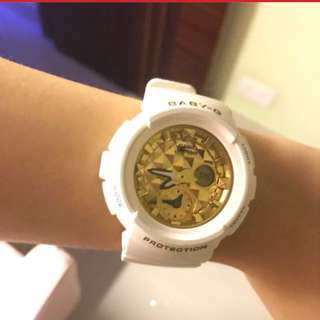 Gshock baby g 防水錶 錶