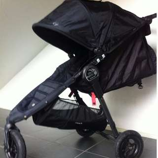 Baby Jogger City Mini GT Black/Shadow Single Seat Stroller
