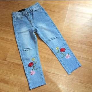 (NEW) Jeans Bunga