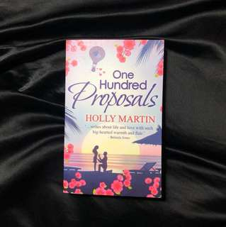 One hundred proposals - holly martin