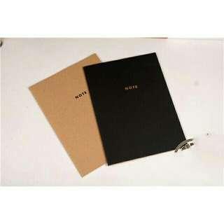 [Bundle Promo] 2in1 Vintage & White Notebooks