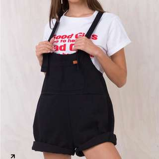Princess Polly Sloan Denim Overalls