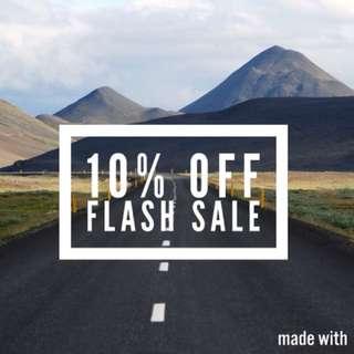 Flash sale + Likes Exchange Max 10