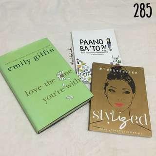 Book Bundle: Paano Ba 'To, Stylized etc.