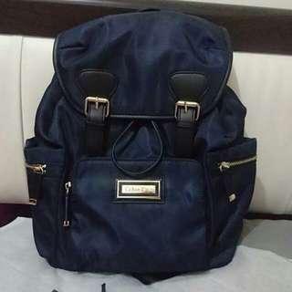 Calvin Klein dark blue backpack
