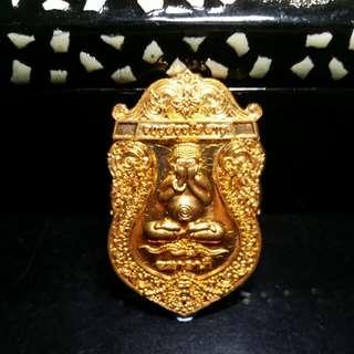 Ajahn Klang Saeng Phra Pidta Rian Amulet