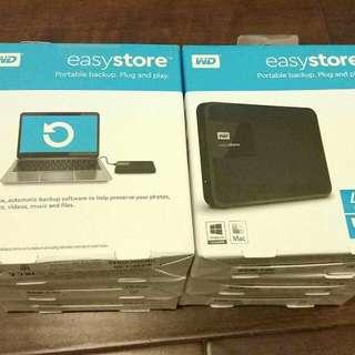 Western Digital WD External Hard Drive 4TB