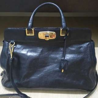 *REDUCED* Authentic Prada BN2078 Calfskin Tote in Ner