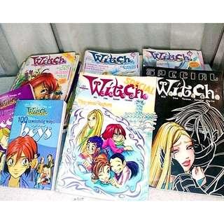 W.I.T.C.H. Comic books