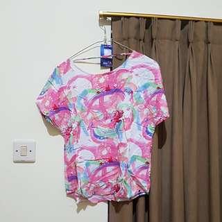 Insight Beach Shirt Back-less Colorful Summer Clothes (Baju Pantai)
