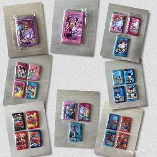 Wallet for Kids (New Designs) Ready Stock