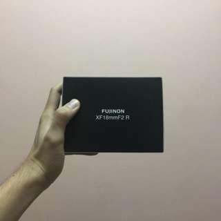 Fujifilm 18mm f2r lens