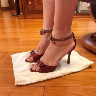 Manolo blahnik evening shoes