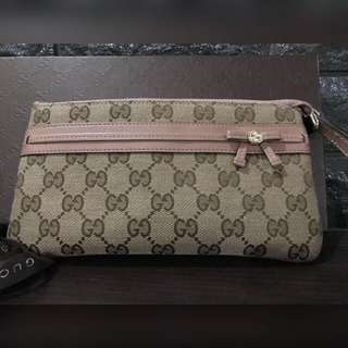 Gucci Wrist Wallet Authentic