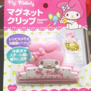 Brand New My Melody Magnet Clip