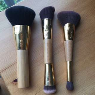 AUTHENTIC TARTE ROSEGOLD BRUSHES