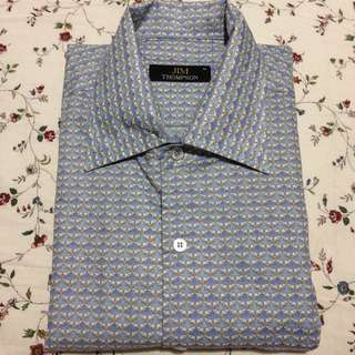 Jim Thompson Blue Elephant Shirt