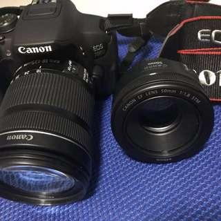Canon EOS 700D 18-135mm STM kit