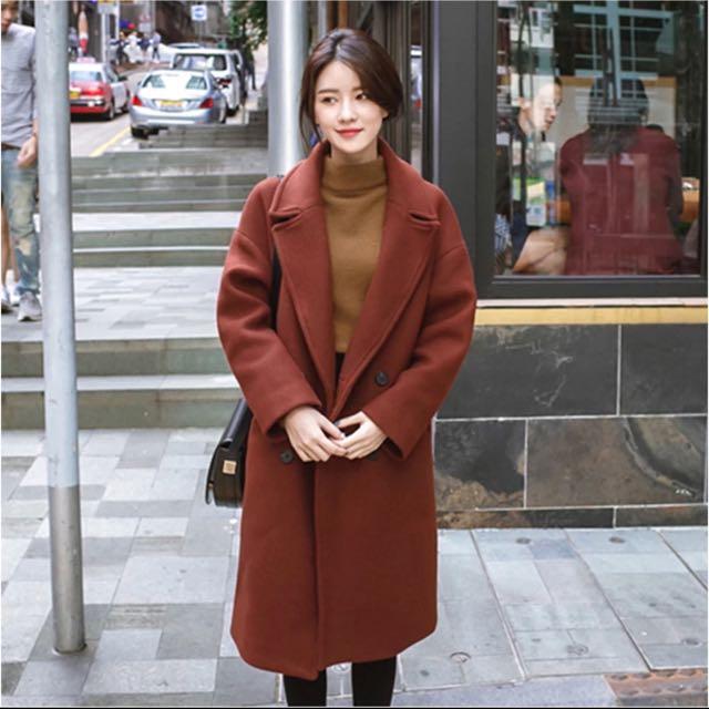 4343666dea82 2017 Winter Trench Coat Korean style