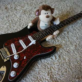 Squier Stratocaster Electric Guitar (with matching headstock)