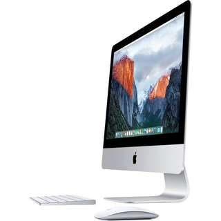 iMac with 21.5-inch LED-backlit display