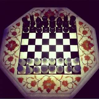 Taj Mahal Chess Board