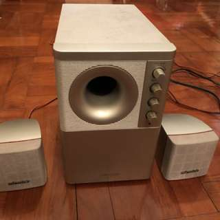 Microlab Speaker with Subwoover