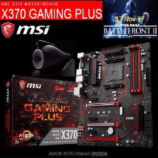MSI X370 Gaming Plus.