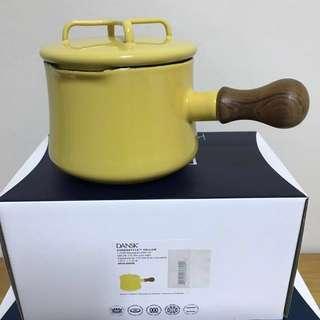 全新DANSK 琺瑯木柄片手鍋