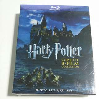 Harry Potter Complete 8 Film Collection Blu-ray