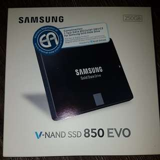 250GB SSD Samsung 850 Evo